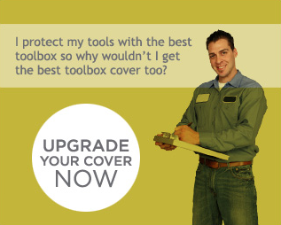 I protect my tools with the best toolbox so why wouldn't I get the best toolbox cover too? UPGRADE YOUR COVER NOW!